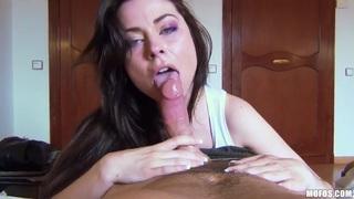 Nice-looking porn POV scene with Veronica Vice