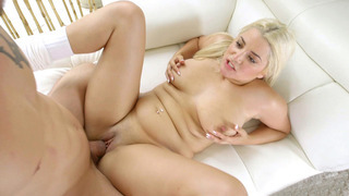 Alix Lovell takes it balls deep in her tight coochie