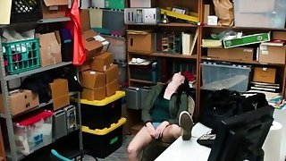 Teen Thief Alex Got Forced Into Banging In Office