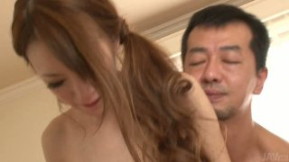 Mai Shirosaki in outrageous asian threesome