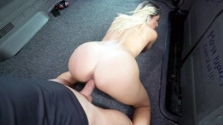 Blonde Tommy Diamond gets pussy drilled from behind