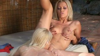 It can't get any hotter than Sophie Moone and Jasmin pleasing each other